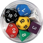 Dice + Counters + Board Game Accessories